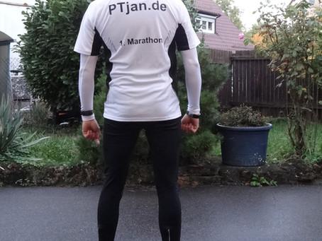 Neues Shirt für den 1.Marathon
