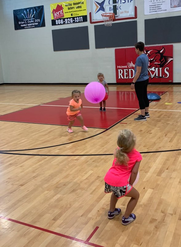 Volley Tots (Ages 3-4)