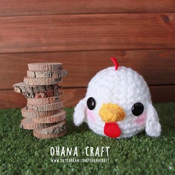 Rooster Positive 2017 Free Crochet Pattern