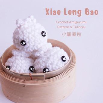 Free Crochet Amigurumi Pattern : Xiao Long Bao