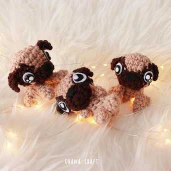 Pugness Year of Dog 2018 Free Crochet pattern