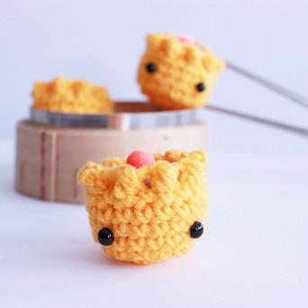 Free Crochet Amigurumi Pattern : Siu Mai