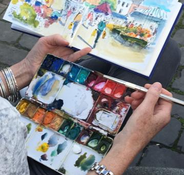 Sketching Boston Saturday Market