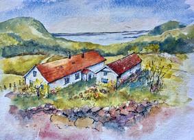 Mountain farm, Western Norway