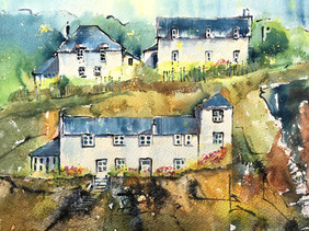 Fishermans cottages, Port Isaac