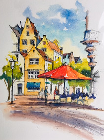 Rembrandt square, Amsterdam