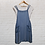 Thumbnail: Denim Effect Pinafore Dress Set