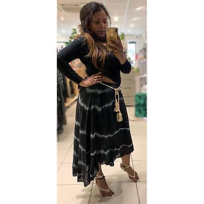 Hi Low Tie Dye Skirt