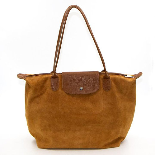 Large Italian Suede Handbag