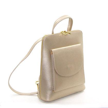 Classic Italian Leather Back Pack