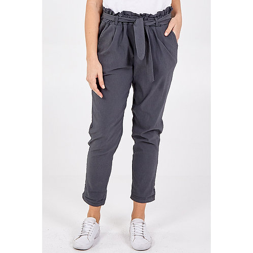 Paper Bag Magic Trousers in Charcoal