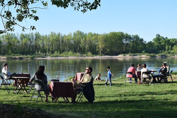 Manger en bord de Loire, Bar et Resto en bord de Loire