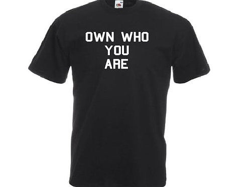 Black Inspirational and Motivational T-shirt
