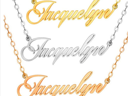 Women Gift 18k Gold plated Personlised Necklaces