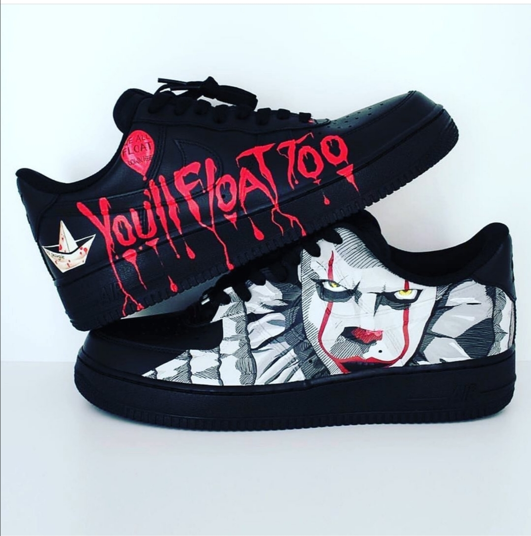 Pennywise Customise Halloween Sneakers A