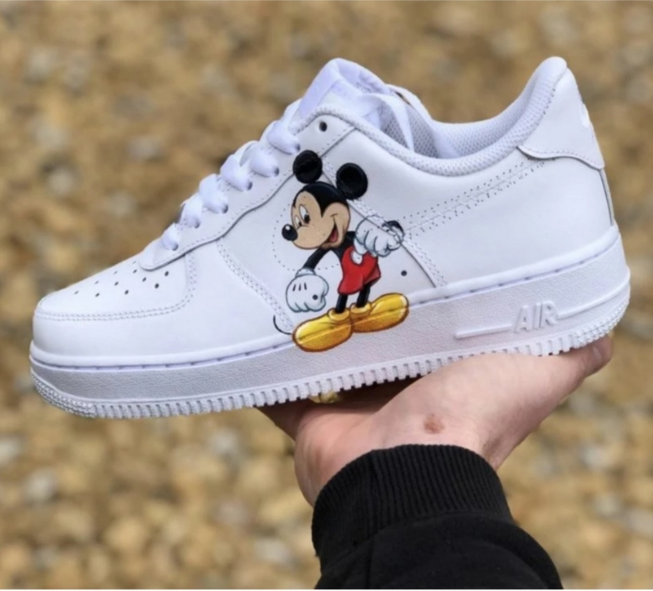 Customise Mickey Mouse Air Force 1