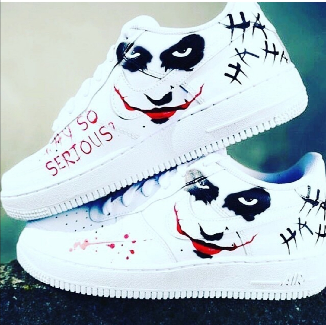 Customise Sneakers Nike Air Force 1 Joke