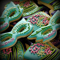 Purim Mask Cookies