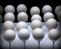 Golf Ball Cak Pops