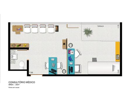 Consultório Médico 35 m²