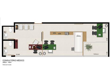 Consultório Médico 49 m²