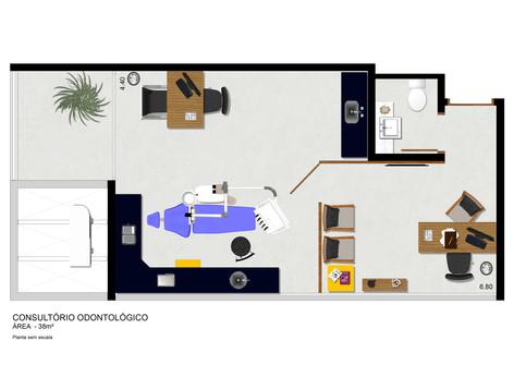 Consultório Odontológico 38 m²
