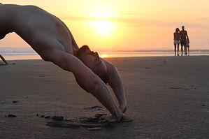 private, yoga, stretch, sunset, male, calm, happy, love, meditate, innerpeace, peace,
