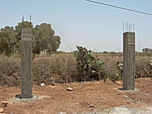 Un portail amazigh en bois