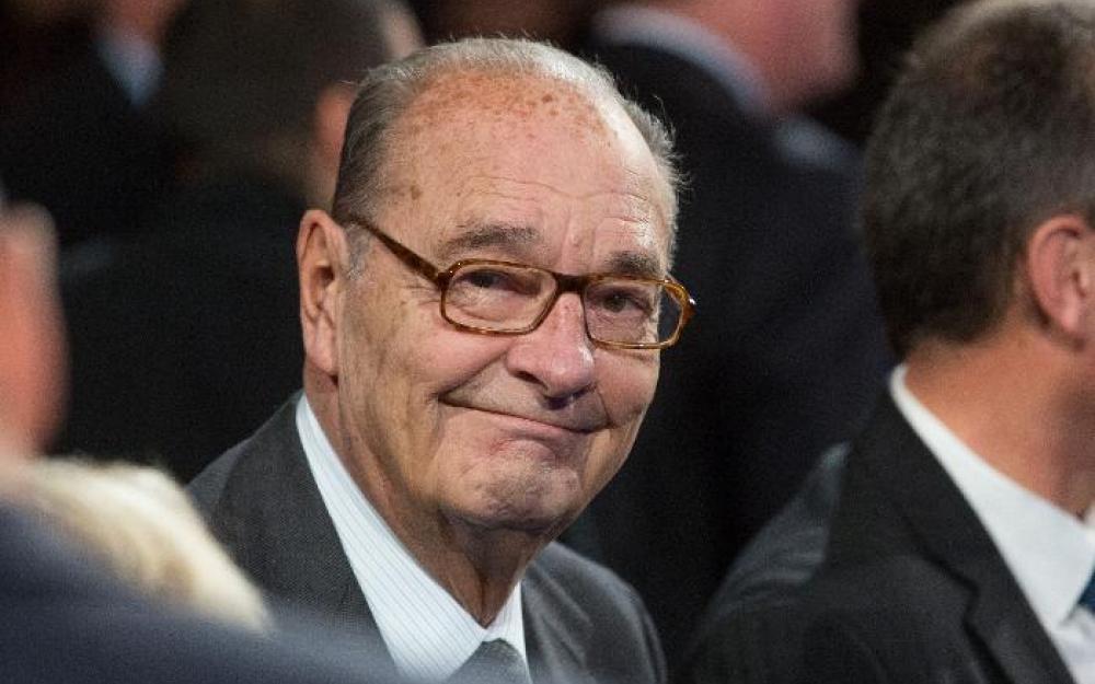 Jacques Chirac, photographié en novembre  2014.