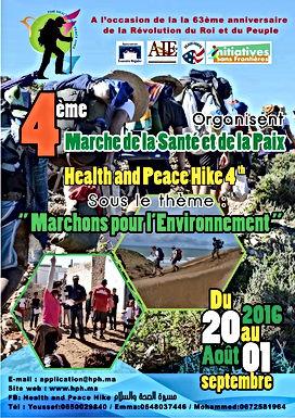 Des jeunes marchent pour la santé, la paix et l'environnement entre Essouira et Agadir
