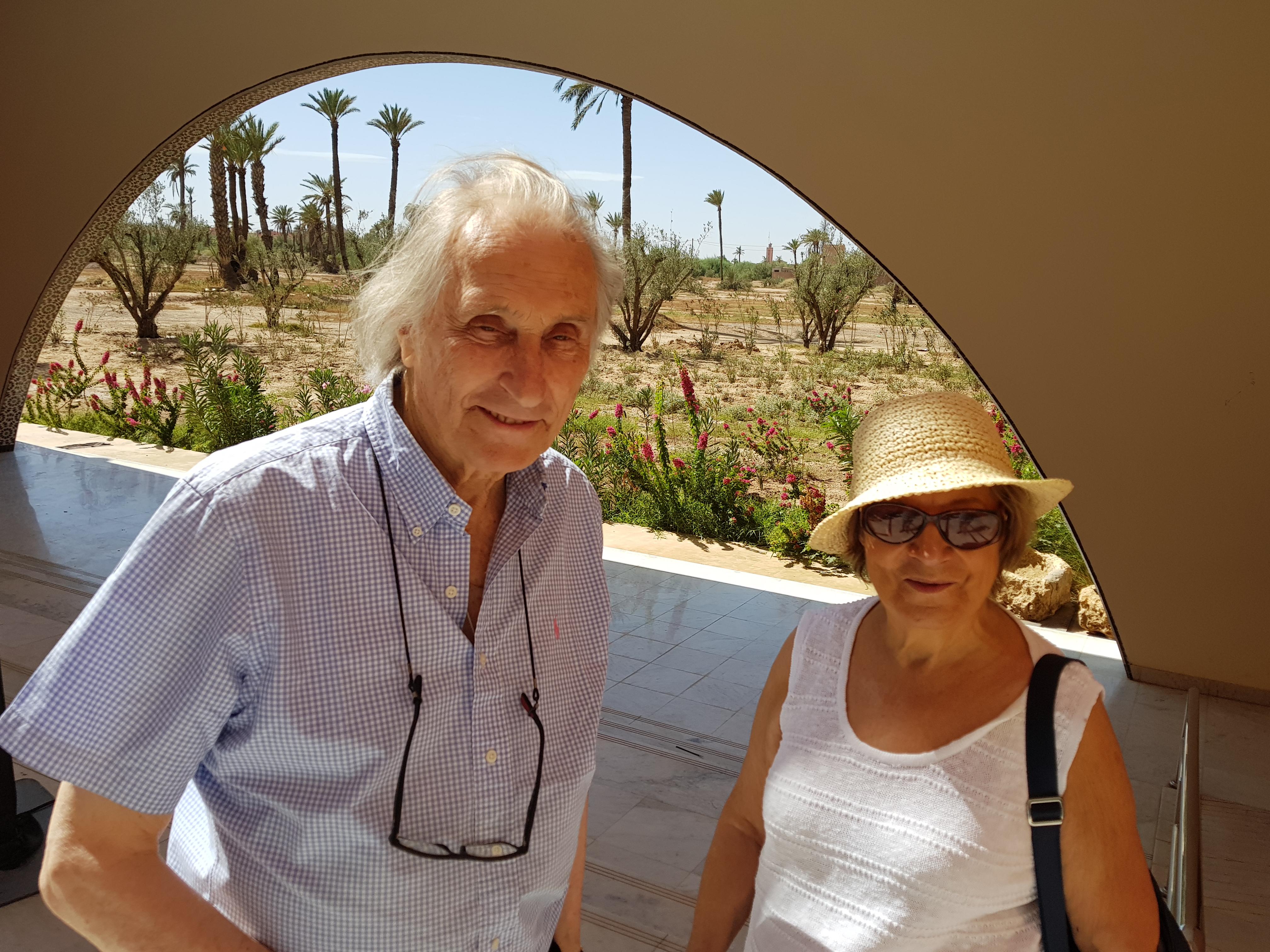 Au Musée de l'eau à Marrakech