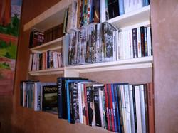 Bibliothèque du coin lecture