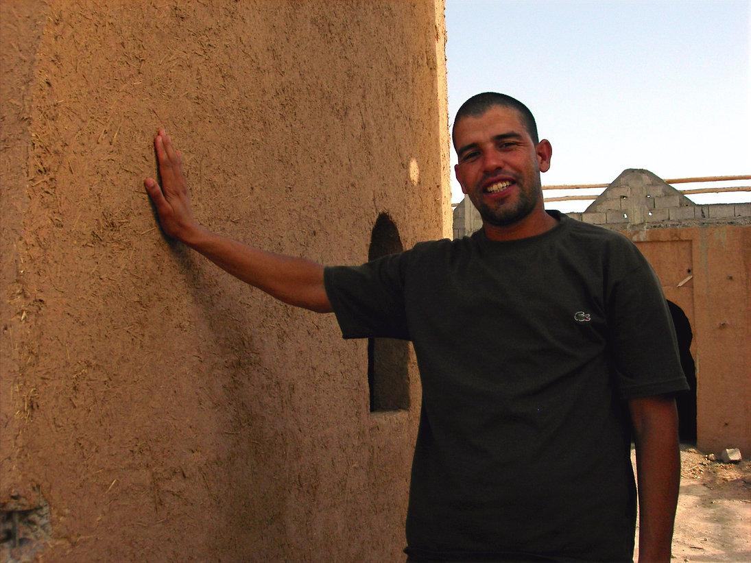 Ouled Brahim : le gîte rural La Tour de toile en cours de construction