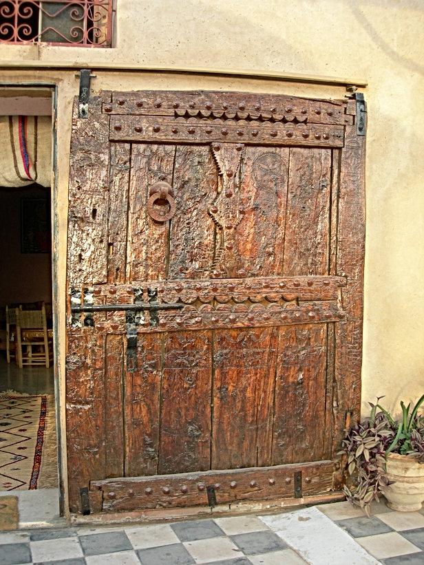 Recherche porte amazighe pour Le Jardin aux Etoiles