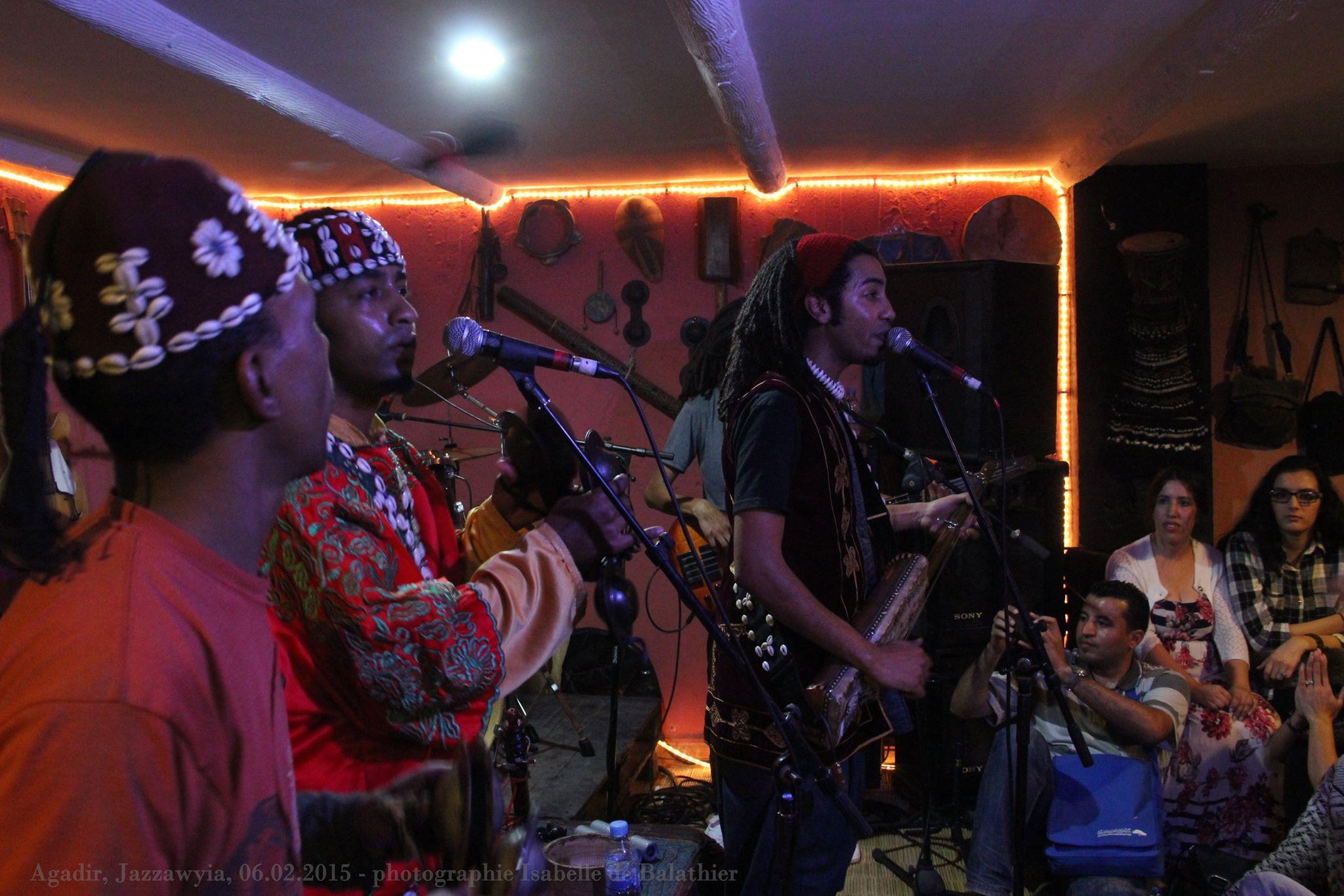 Musiciens gnaoua