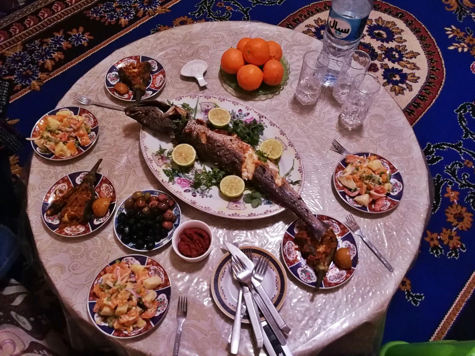 Festin chez Moulay Hafid