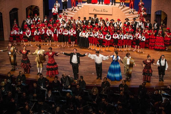 Carmen, Orchestre philarmonique du Maroc, 2016