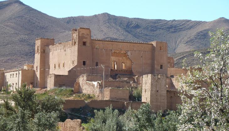 L'imposante kasbah du Glaoui
