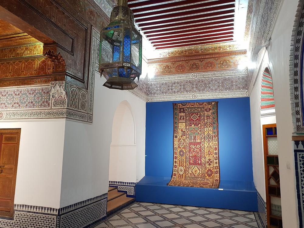 Un palais magnifique restauré pour mettre en valeur tissages et tapis