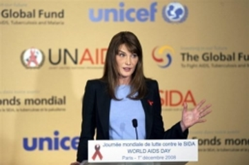 Carla Bruni Sarkozy aime le Maroc et l'aide à combattre le sida