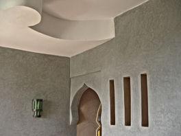 Salon Cinq mondes, gris Tiznit, vague, plafond