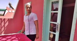 Notre masseuse Aziza