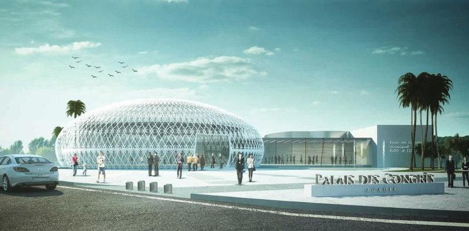 Palais des Congrès d'Agadir : ambitieux projet avec la capacité d'accueillir 5'000 personnes