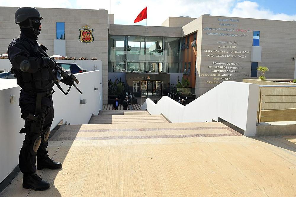Le siège du Bureau central d'investigation judiciaire (BCIJ) à Salé