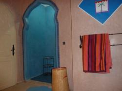 Douche bleu Essaouira