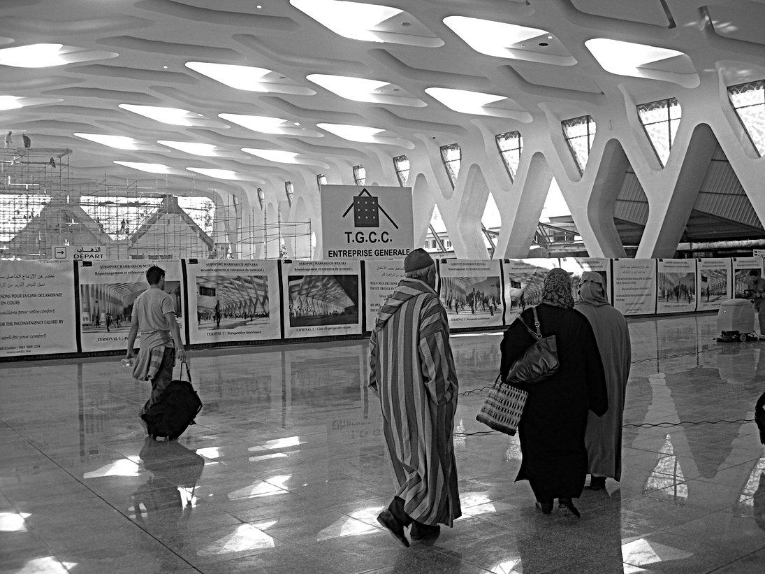 L'aéroport de Marrakech Menara en mode alu