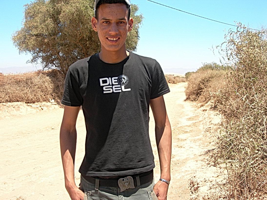 Une famille à la campagne dans la vallée du Souss