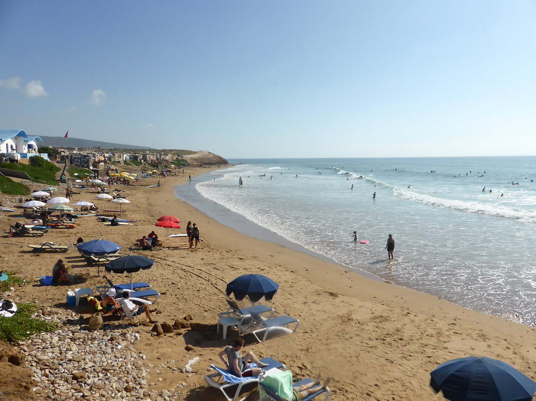 La plage d'Imourane débarrassée de deux tonnes et demie de déchets