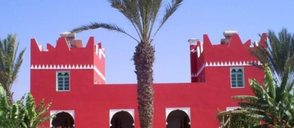 Ma Villa prend une couleur rouge éclatante