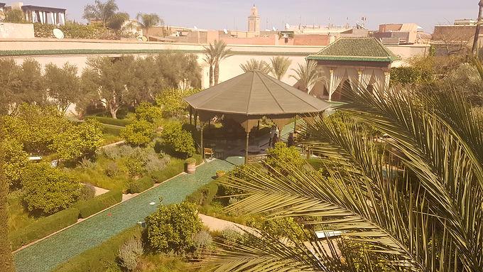 Création nouvelle, le Jardin secret de Marrakech est une halte magique et bienvenue